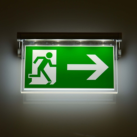 Emergency lighting and safety signage