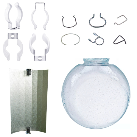 Lamps accessories and spare parts